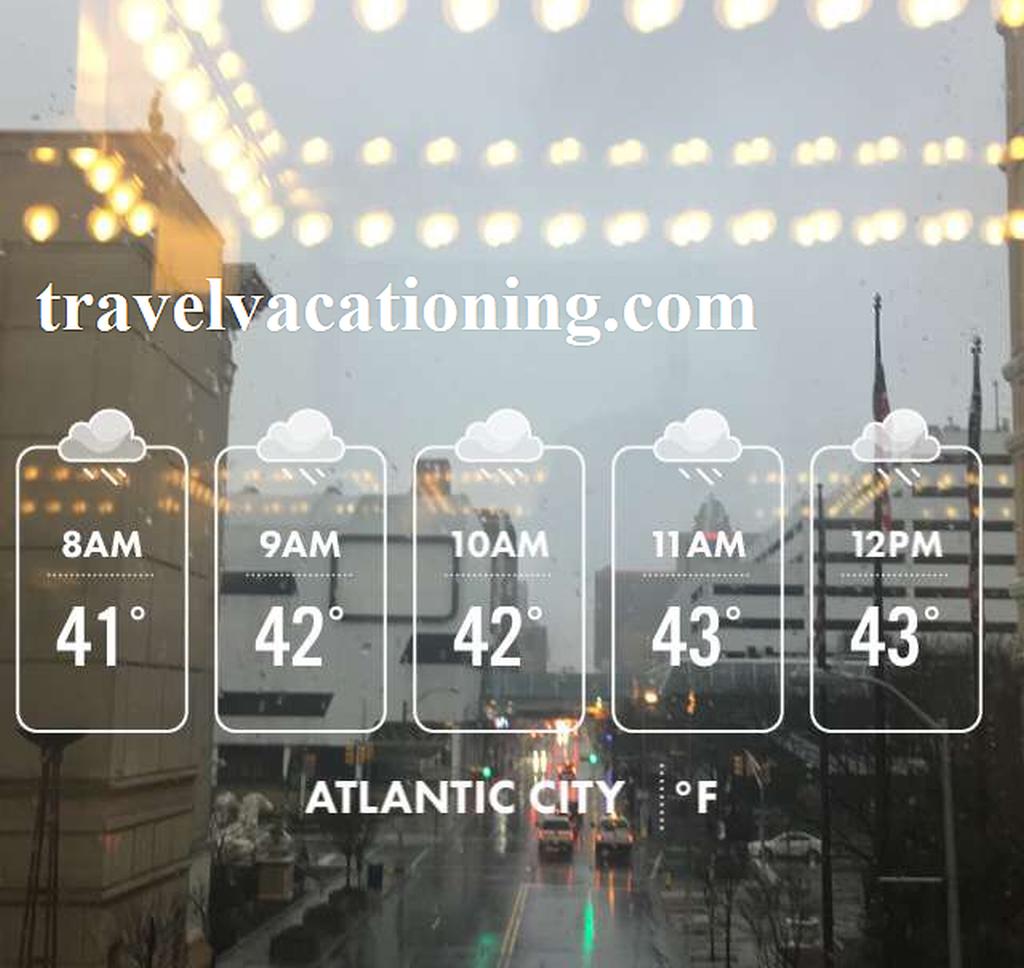 atlantic city weather