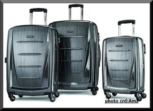 travel luggage set_